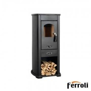 Semineu lemn Ferroli BRESCIA F 7 kw
