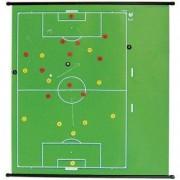 b+d Taktik-Lehrtafel MIT Schreibrand - Fußball