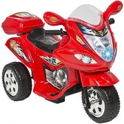 Best Choice Products Kids Ride On Motorcycle 6V Toy Battery Powered Electric 3 Wheel Power Bicyle Red