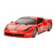 Tamiya - Ferrari 458 Challenge - TT02 Chassis -Modello scala 1:10