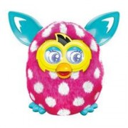 Jucarie Furby Boom Sunny Electronic Plush Pink And White Polka Dots