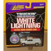 Johnny Lightning WHITE LIGHTNING 1996 DODGE RAM 1500 ultra rare bonus chase car limited edition TRUCKIN AMERICA