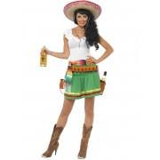 Vegaoo Kostym uppasserska med salsan i blick dam Medium (40)