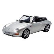 1994 Porsche 911 Cabriolet Silver 1/18 By Norev 187592