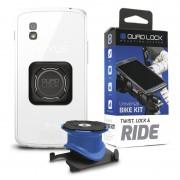 Quad Lock Bike Kit Uchwyt do telefonu Universal Fit niebieski/czarny Akcesoria do smartphonów