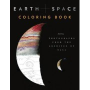 Earth and Space Coloring Book by Chronicle Books