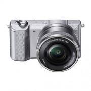 Sony Aparat SONY Alpha a5000 (ILCE-5000) Srebrny + Obiektyw 16-50mm + DARMOWY TRANSPORT!