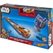 Hot Wheels®- Star Wars™ Lightsaber™ Blast & Battle™ Luke Skywalker™ Vehicle Launcher