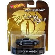 Aston Martin DBS James Bond 007 Casino Royale Hot Wheels 2014 Retro Series Die Cast Vehicle