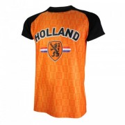 T-shirt Holland Zwarte mouw