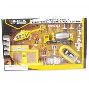 Mozlly Construction Workers Playset Toy Figure Playsets