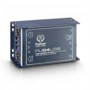 Palmer Pro Stereo DI-Box mit Line Isolator/USB Ein