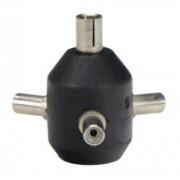 Kaiser #1322 - Adaptor mufa PC Sync (triplu)