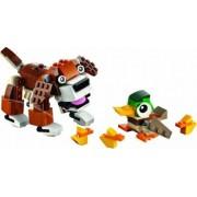 Set Constructie Lego Creator Animale Din Parc