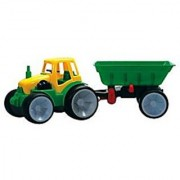 Gowi Toys Austria Tractor with Wagon