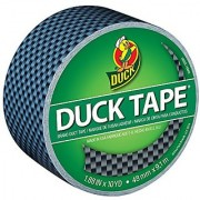Duck Brand 283982 Printed Duct Tape Carbon Fiber 1.88 Inches x 10 Yards Single Roll