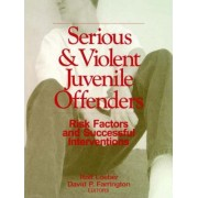 Serious and Violent Juvenile Offenders by Rolf Loeber