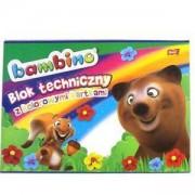 Блокче с цветна хартия Bambino, St. Majewski, 5903235001567
