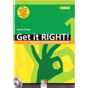 Get it Right 1 with Audio CD - Improve your Skills and Grammar by Rachel Finnie