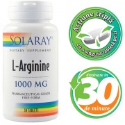 L-Arginine 1000mg - Solaray Longeviv.ro
