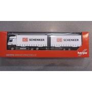 Herpa - 304 597 - Mercedes-Benz - Actros BigSpace Volume Nel rimorchio - DB Schenker