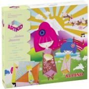 Cutie cu articole creative pentru copii, ALPINO ArtKid Munecas Japonesas