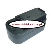 Bateria Black&Decker HPB18 1500mAh NiCd 18V