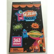 Scream Social Sticker Book (363 stickers)