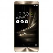 "Smartphone, Asus ZenFone 3 Deluxe, DS, 5.7"", Intel Octa (2.15G), 6GB RAM, 64GB Storage, Android, Gold (90AZ0161-M01000)"