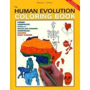 The Human Evolution Colouring Book by Adrienne L. Zihlman