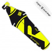 rie:sel design rit:ze Parafango Bright yellow label giallo/nero Parafanghi posteriori