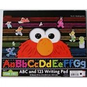 Sesame Street Elmo ABC and 123 Writing Pad - 30 Sheets - 10 x 8