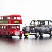 Londoni autóbusz és taxi