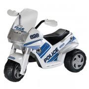 Motocicleta Peg Perego Raider Police Polizei