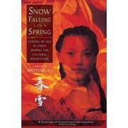 Snow Falling in Spring by Moying Li