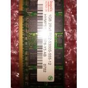 Hynix - Mémoire - 1 Go - SO DIMM 200 Broches - DDR2 SDRAM - PC2-5300 - HYMP512S64BP8-Y5-AB