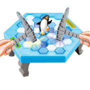 Original Box Ice Breaking Save The Penguin great Family Fun Game-penguin trap Desktop Antistresses toy for children Tricks Gifts
