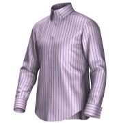 Maatoverhemd roze/blauw 55267