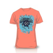 Camiseta Ornament Orange
