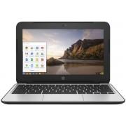 "Laptop HP ChromeBook 11 G4 (Procesor Intel® Celeron® N2840 (1M Cache, up to 2.58 GHz), 11.6"", 4GB, 32GB eMMC, Intel® HD Graphics, Wireless AC, Chrome OS)"