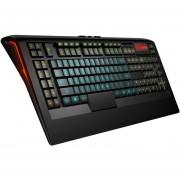 Teclado SteelSeries 64470 Apex 350 Gamer Anti Ghost - Negro