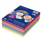 Rainbow Super Value Construction Paper Ream, 45 lb, 9 x 12, Assorted, 500 Sheets