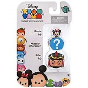 Disney Tsum Tsum Series 4 Minnie & Jafar 1 Minifigure 3-Pack