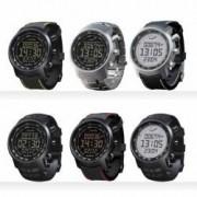Suunto Elementum Terra Sport-Armbanduhr Terra Steel mit silbernem Metallarmband