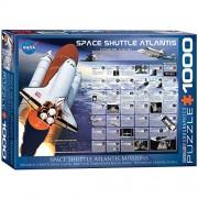 Eurographics Puzzle 1000 Pz- Space Shuttle Atlantis