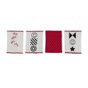 Kit for Kids, Paracolpi da culla, Rosso (rot)