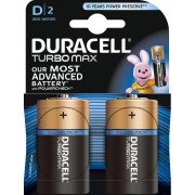 Baterie Duracell Turbo Max D 2