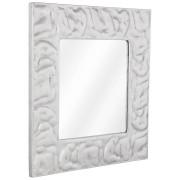 Miroir design 'ANATOL' en aluminium poli