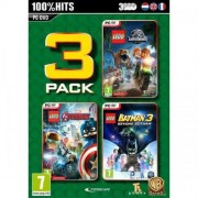 Lego 3 Pack V.3 (Jurassic World - Avengers - Batman 3) PC