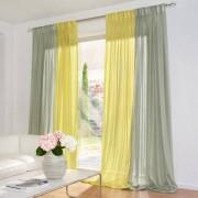 """Vorhang """"Aufwind"""", 1 Vorhang, 142 x 245 cm - Lindgrün"""